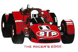 Racing Car Sticker